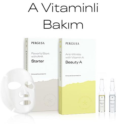 A Vitaminli Ampul Bakım Seti